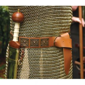 Leather Roman Belt